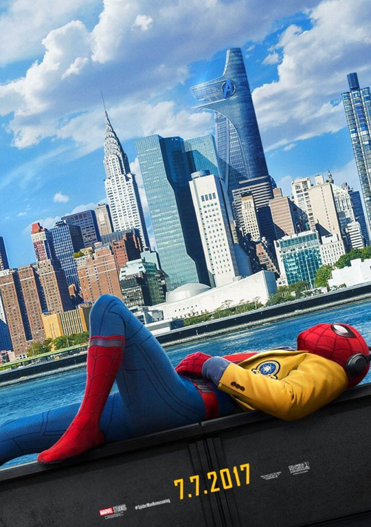 Segundo tráiler de 'Spider-Man: Homecoming'. Cayendo en las redes juveniles de Tom Holland.