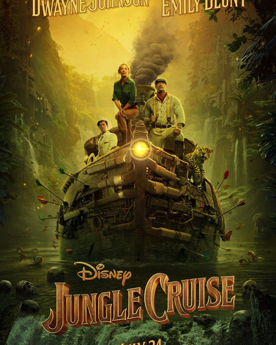 JUNGLE CRUISE – Tráiler 2 Español [HD]